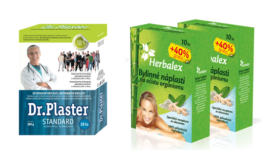 Detoxikační náplasti
