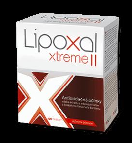 tablety na hubnutí Lipoxal Xtreme II